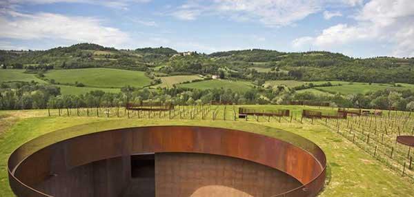 روف گاردن کارخانه شراب سازی